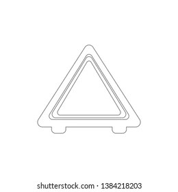 Breakdown Car Red Triangle Stock Vectors, Images & Vector
