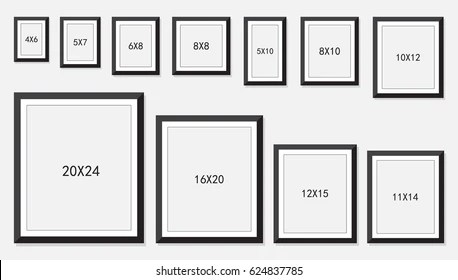 frame size images stock