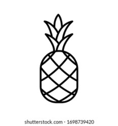 Pineapple Icon Images Stock Photos & Vectors Shutterstock