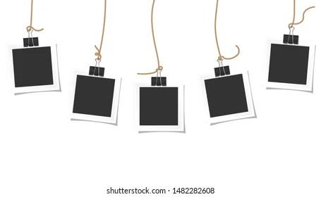 Instant Polaroid Stock Vectors, Images & Vector Art