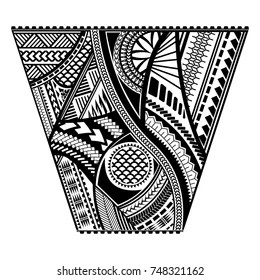 Simple Polynesian Tattoo Designs
