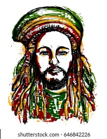 Rasta 420 Tattoo Designs