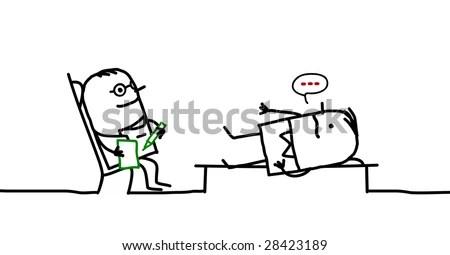 Psychiatrist Stock Vector (Royalty Free) 28423189