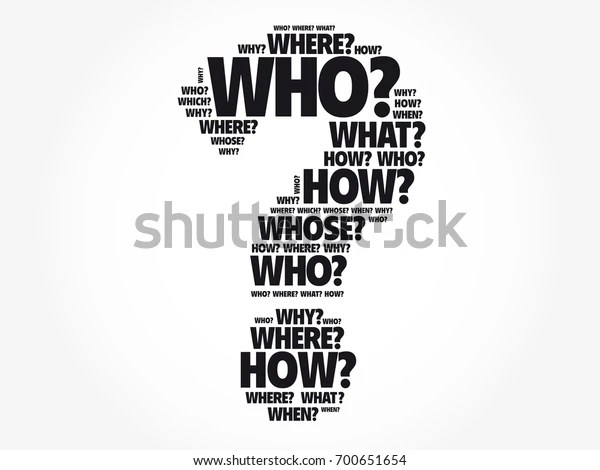 Question Mark Questions Whose Answers Considered Stock