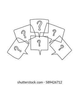 Questions And Answers Images, Stock Photos & Vectors