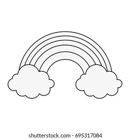 Rainbow Coloring Materials Logo Coloring Pages
