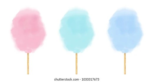 cotton candy images stock