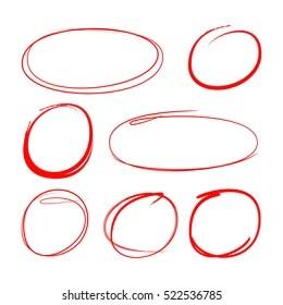 hand drawn circle images