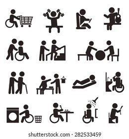 Occupational Therapy Icon Images, Stock Photos & Vectors