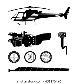 Helicopter Cockpit Images, Stock Photos & Vectors