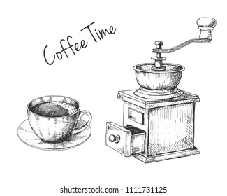 Similar Images, Stock Photos & Vectors of Coffee grinder