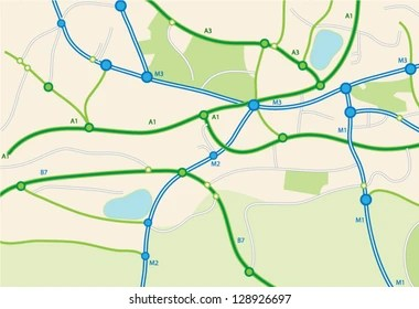 road map images stock