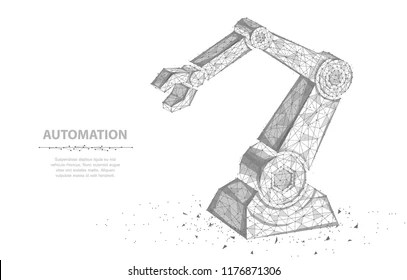 Robotic Arm Line Drawing Stock Illustrations, Images