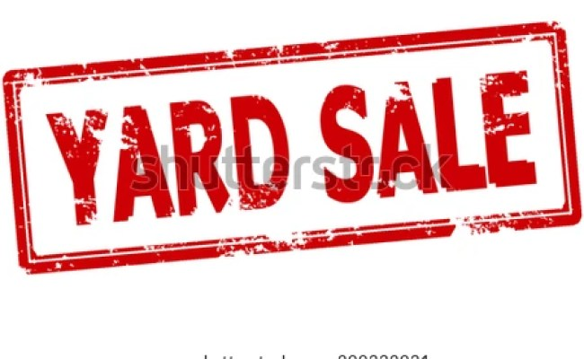 Rubber Stamp Text Yard Sale Inside Stock Vector Royalty