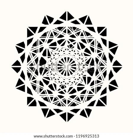 Sacred Geometry Geometric Wolf Tattoo
