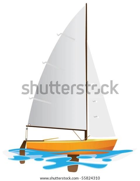 sailing boat floating on