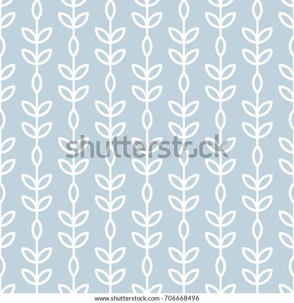 https www shutterstock com fr image vector scandinavian seamless wallpaper pattern nature botanical 706668496
