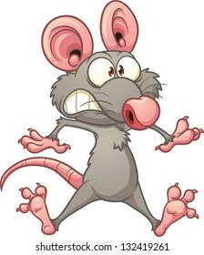 Rat Pictures Cartoon : pictures, cartoon, Scared, Images,, Stock, Photos, Vectors, Shutterstock