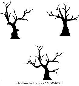 scary tree images stock
