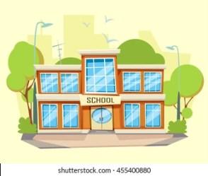 School Building Cartoon Images Stock Photos & Vectors Shutterstock