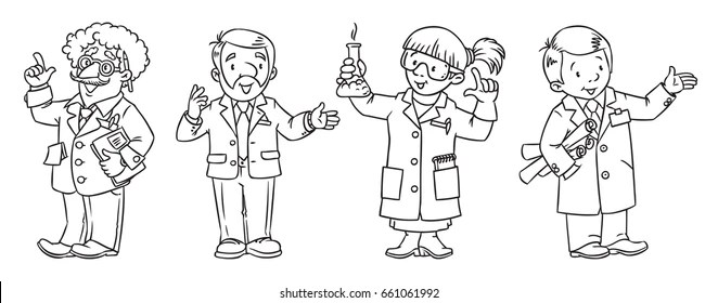 Scientist Kids Stock Vectors, Images & Vector Art