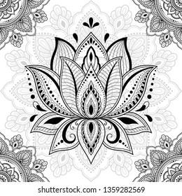 Imágenes Fotos De Stock Y Vectores Sobre Mandala Flor De Loto