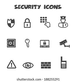 Security Guard Icon Images, Stock Photos & Vectors
