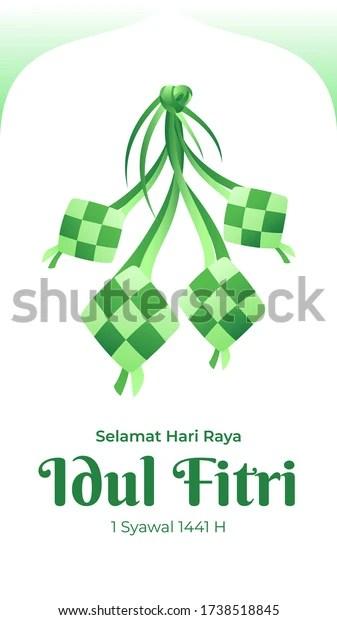 Tulisan Selamat Hari Raya : tulisan, selamat, Selamat, Fitri, Greeting, Stock, Vector, (Royalty, Free), 1738518845