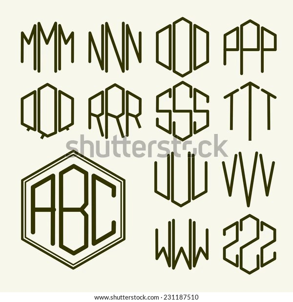 set 2 template letters