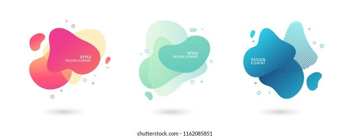 shapes vector images stock