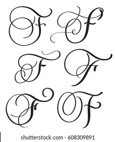 F In Script : script, Letter, Script, Stock, Images, Shutterstock