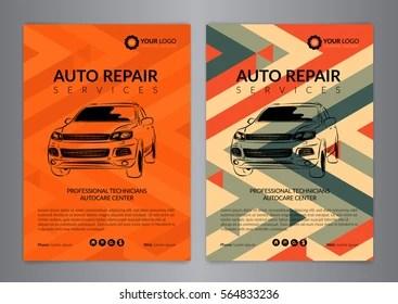 auto repair flyer images