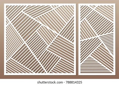 tree pattern laser cutting