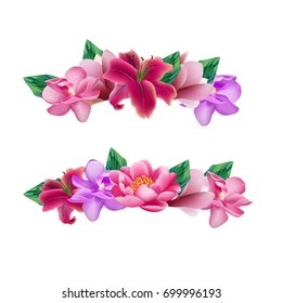 flower crown images stock