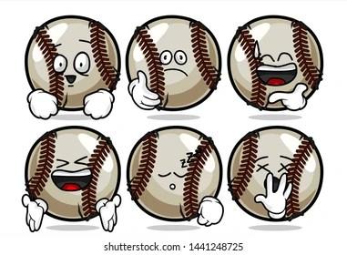 baseball cartoon images stock