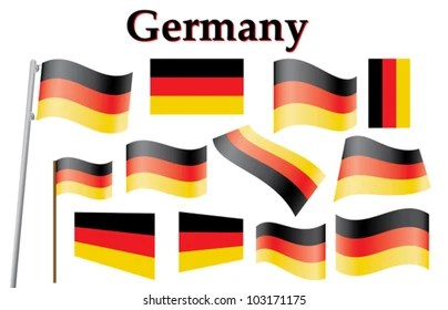 waved flags images stock