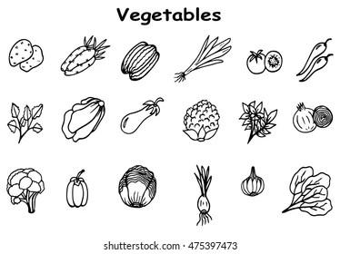 Green Salad Cartoon Images, Stock Photos & Vectors