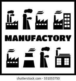 Logo Manufacturing Plant Images, Stock Photos & Vectors