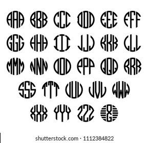 monogram images stock photos