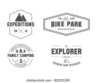 Family Camping Stock Vectors, Images & Vector Art