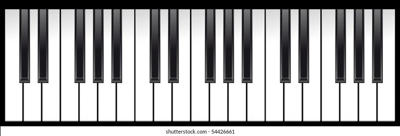 piano keyboard images stock