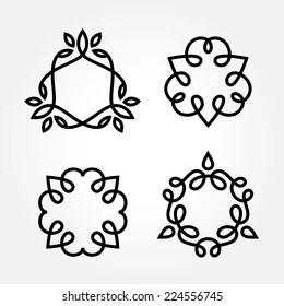 Simple Borders Elegant Stock Vectors, Images & Vector Art
