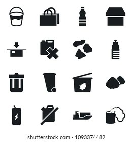 Similar Images, Stock Photos & Vectors of trashcan icon