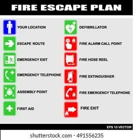 Fire Escape Plan Images Stock Photos Amp Vectors Shutterstock