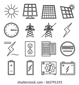Power Inverter Icon Images, Stock Photos & Vectors