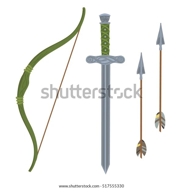 set weapons green bow