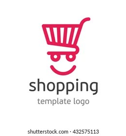 mobile shopping cart logo