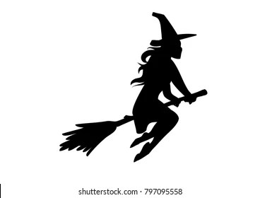 riding a broom images