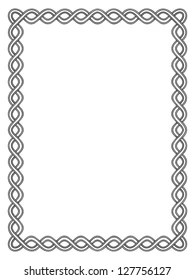 See black and white border stock video clips. Simple Black And White Border Images Stock Photos Vectors Shutterstock