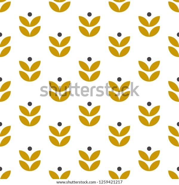 https www shutterstock com fr image vector simple seamless geometric pattern scandinavian style 1259421217